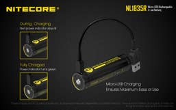 Nitecore 3500mAh Micro USB Rechargeable 18650 Battery