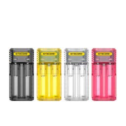 Nitecore Q4 Li-on & IMR 4-Slot Quick Battery Charger - Pink