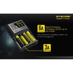 Nitecore Superb Charger SC4
