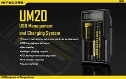 Nitecore UM20 Digital Smart Charger
