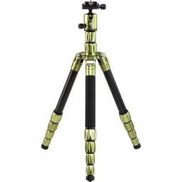 MeFOTO Roadtrip S Travel Tripod Aluminium - Green