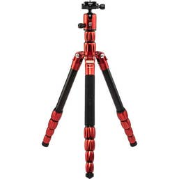 MeFOTO Roadtrip S Travel Tripod Aluminium - Red