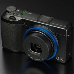 Ricoh GR III Camera Kit With GN-1 Blue Ring