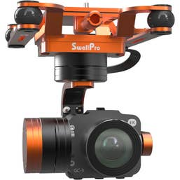 SwellPro 4K Camera with 3 Axis Gimbal Waterproof Module for SplashDrone 3 Series Drones