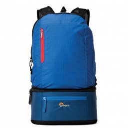 Lowepro Bag Passport Duo Blue Shoulder Bag Conv to Backpack