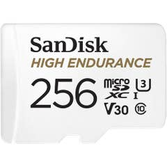 SanDisk High Endurance microSDXC Card 256GB 100MB/S