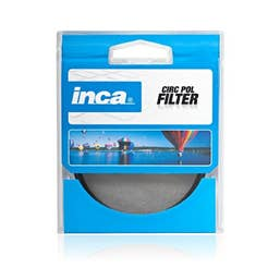 Inca 55mm Circular Polarising Filter