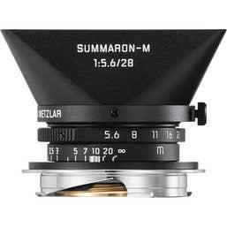 LEICA - SUMMARON-M 28mm f/5.6 Matt Black Paint Finish