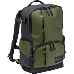 "Manfrotto Street Camera and 15"" Laptop Backpack for DSLR/CSC (Green and Gray)"