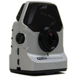 ZOOM Q2N Handy VIdeo Recorder- Silver  (1080p )
