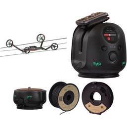 Syrp Slingshot 3-Axis 328' Motion-Controlled Cable Cam Time-Lapse Kit