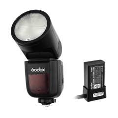 Godox V1 TTL Li-Ion Round Head Camera Flash for Sony