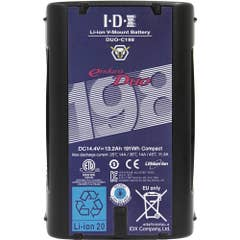 IDX 191Wh Li-ion V-Mount Battery DUO-C198