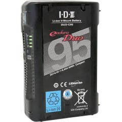 IDX 93Wh Li-ion V-Mount Battery DUO-C95