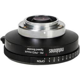 Metabones Pentax K to Qmount Speed Booster Devil Q666 0.50x Adapter