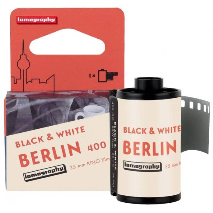 Lomography B&W 400 35mm Berlin Kino Film
