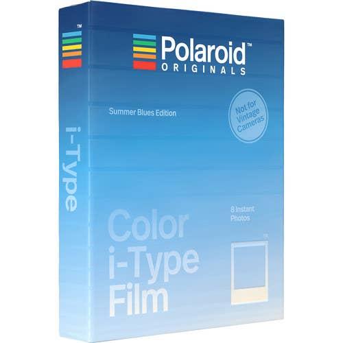Polaroid Originals Colour Film (Summer Blue Edition)