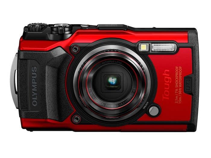 Olympus TG-6 Digital Camera - Red