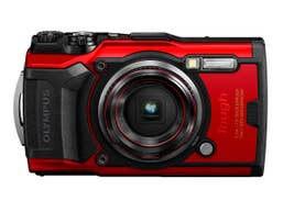 Olympus TG-6 Digital Camera - Red