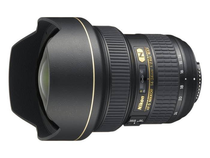 Nikon AF-S 14-24mm f/2.8G ED Lens (JAA801DA)