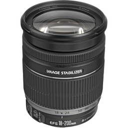 Canon EF-S 18-200mm f/3.5-5.6 IS Camera Lens