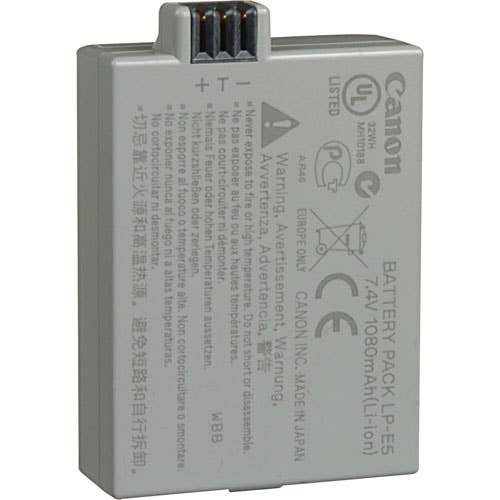 Canon LP-E5 Li-Ion Digital SLR Camera Battery