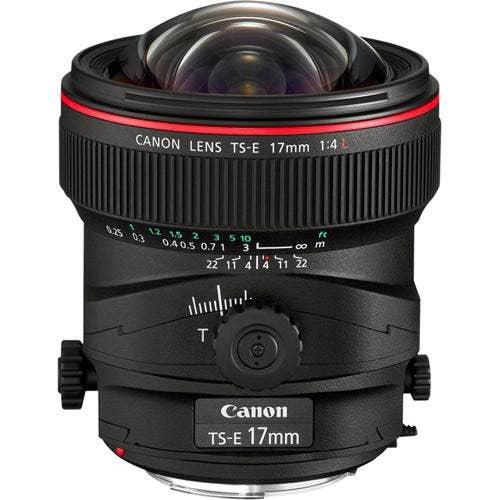 Canon TS-E 17mm f/4L Ultra Wide Angle Tilt Shift Lens