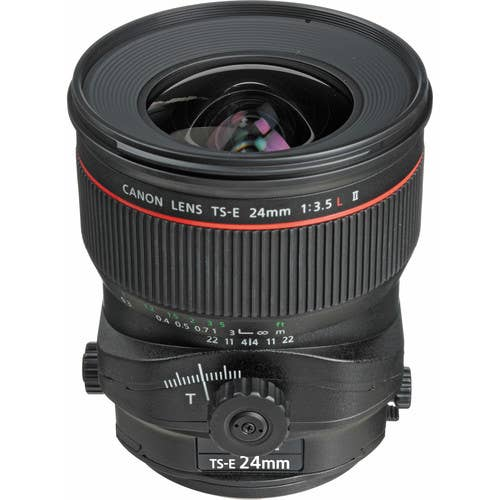 Canon TS-E 24mm f/3.5L II Wide Angle Tilt Shift Lens (3552B003AA)