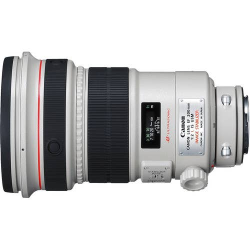 Canon EF 200mm f/2L IS USM Camera Lens  (EF20020LIS)