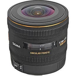 Sigma 4.5mm f/2.8 DC Fisheye HSM Lens for Canon