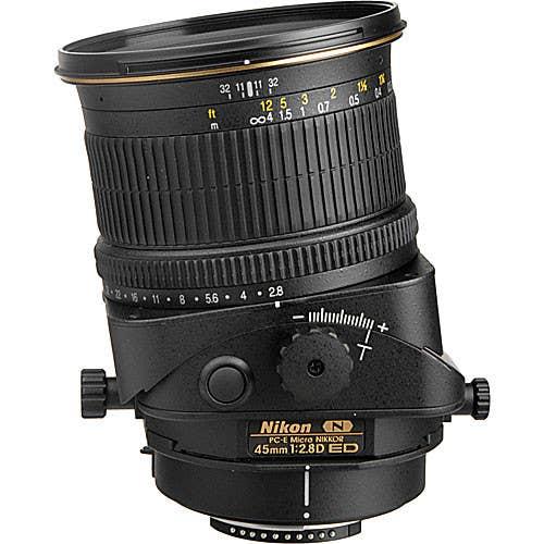 Nikon PCE 45/2.8D LENS
