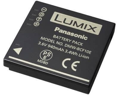 Panasonic DMW-BCF10E Lithium Ion Camera Battery