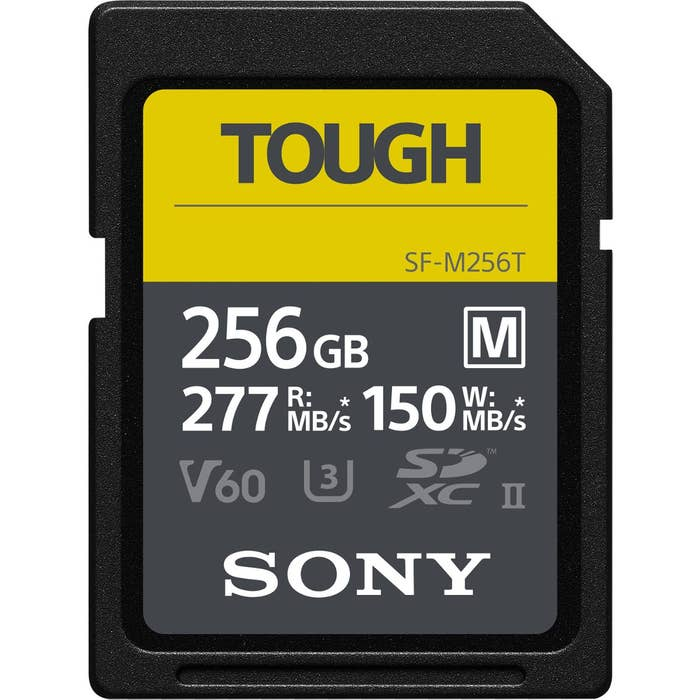 Sony 256GB UHS II M Tough Series SD Card