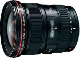 Canon EF 17-40mm f/4L USM Camera Lens
