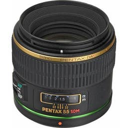 Pentax-DA* 55mm F/1.4 SDM Camera Lens