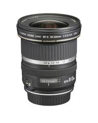 Canon EF-S 10-22mm f/3.5 - 4.5 USM Camera Lens