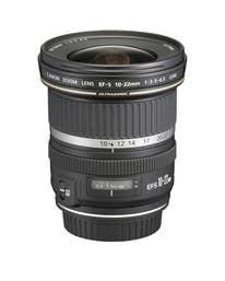 Canon EF-S 10-22mm f/3.5 - 4.5 USM Camera Lens