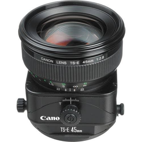 Canon TS-E 45mm f/2.8 Tilt-Shift Camera Lens