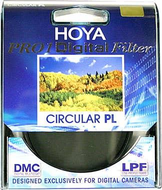 Hoya 58mm Circular Polarising Pro1D DMC Filter