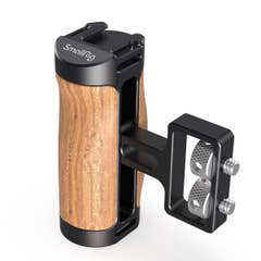 SmallRig Wooden Mini Side Handle (1/4-20 Screws) 2913