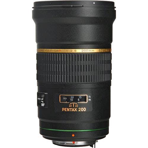 Pentax-DA* 200mm F/2.8 ED IF SDM lens (21700)