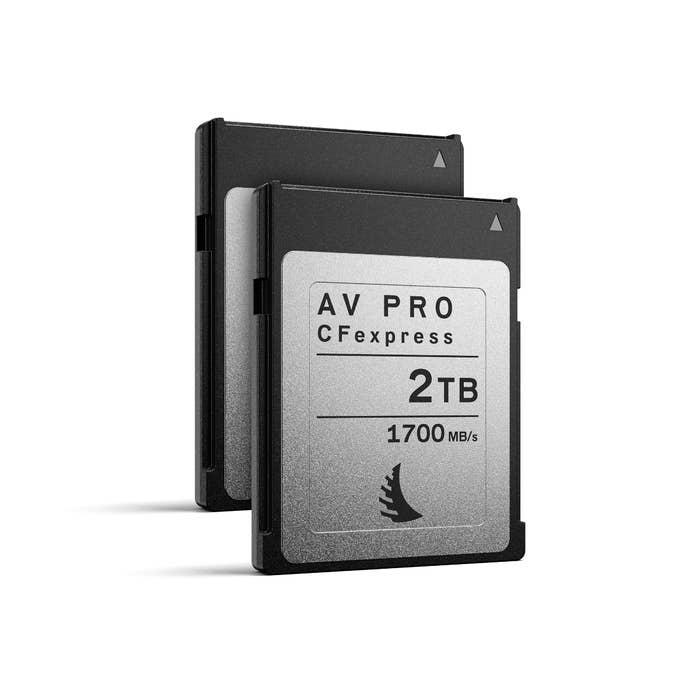 Angelbird AV PRO CFexpress 2 TB | 2 PACK