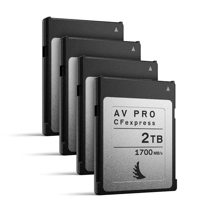 Angelbird AV PRO CFexpress 2 TB | 4 PACK