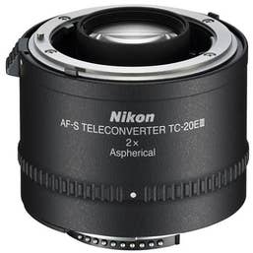 Nikon TC-20E III AF-S and AF-I 2X Teleconverter  (JAA913DA)