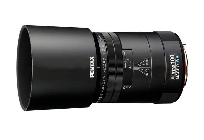 Pentax D FA MACRO 100mm F/2.8 WR Lens (21910)
