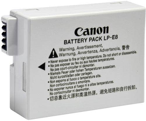 Canon LP-E8 Li-Ion Battery Pack