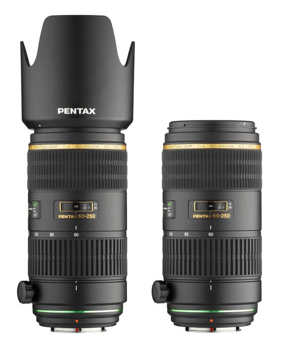 Pentax-DA* 60-250mm f/4 ED AL LTD Lens