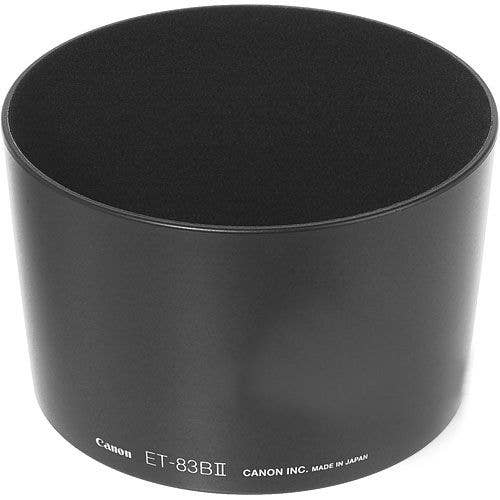 Canon ET83BII 72mm Lens Hood for Canon EF 135mm f2 and Canon EF 200mm f/2.8L II USM
