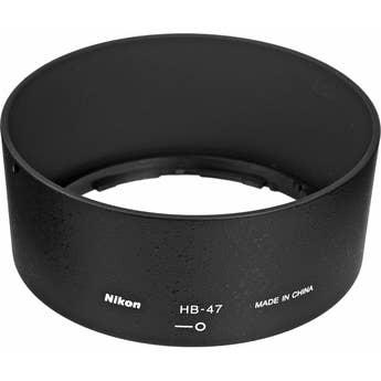 Nikon 58mm Bayonet Lens Hood HB-47 for Nikon AF-S 50mm f1.4G