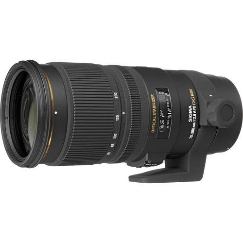 Sigma 70-200mm f/2.8 Ex DG OS HSM Lens for Canon *
